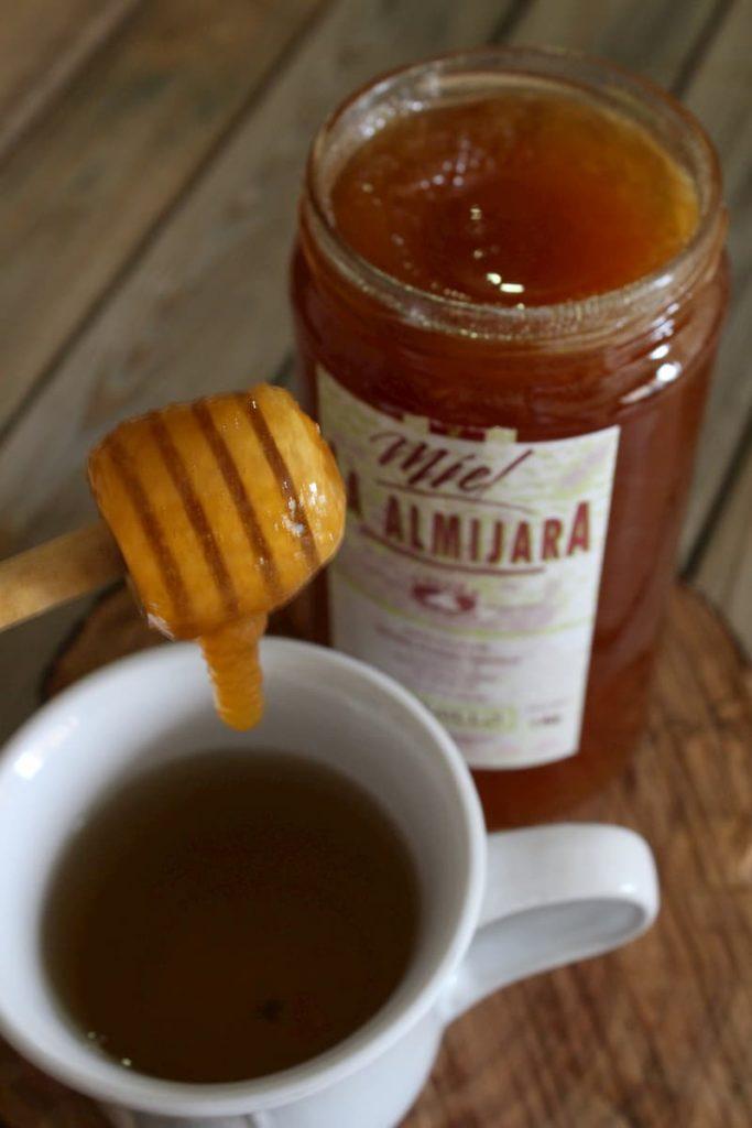 miel para tos y garganta
