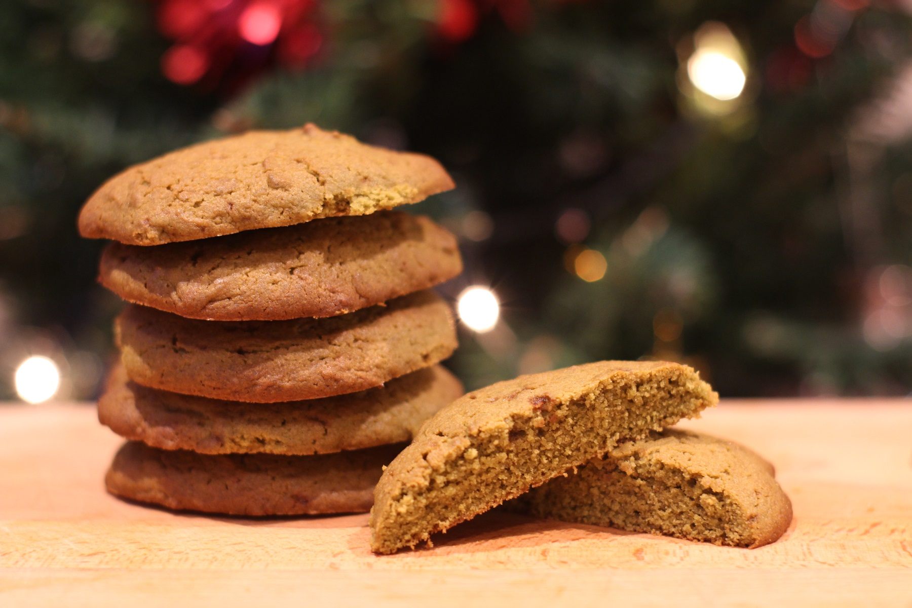 galletas de té matcha y miel