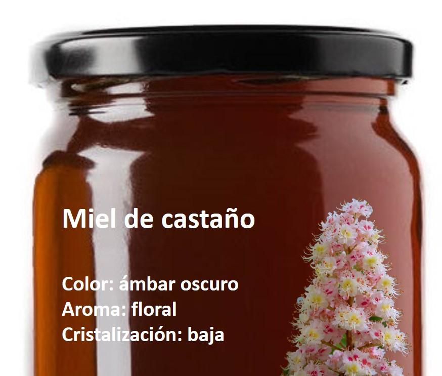 miel castaño